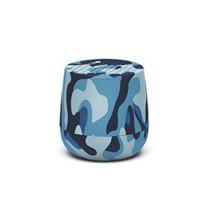 Lexon Camo Bleu - Enceinte sans fil