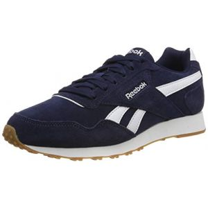 Reebok ROYAL GLIDE - BLUE/WHITE - homme - CHAUSSURES BASSES