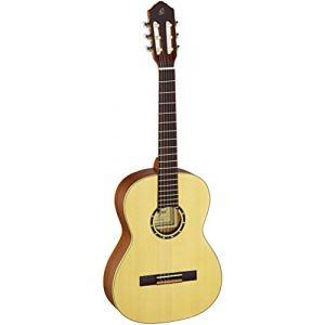 Ortega R121-7/8 Guitare de concert avec housse Taille 7/8 Corps Acajou