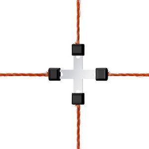 Ako Connecteur fil croisé Litzclip pour fil de 3 mm max