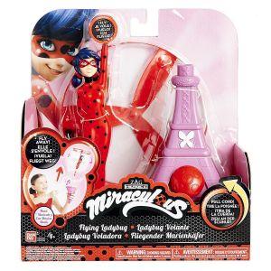 Bandai Ladybug volante musicale Miraculous 19 cm