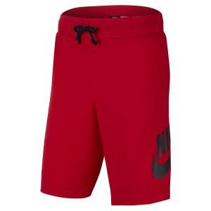 Nike Sportswear short university rouge university rouge noir m