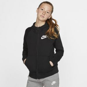 Nike Sweatà capuche à zip intégral Sportswear pour Fille - Noir - Taille M - Female