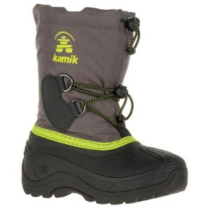 Kamik Bottes et bottines Southpole 4 Children - Charcoal - EU 25