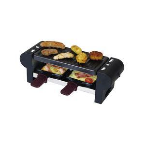 Team Kalorik RAC 1007 CS - Raclette-grill pour 2 personnes