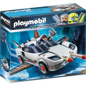 Playmobil 9252 Top Agents - Voiture de l'agent pilote