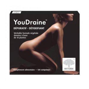 New Nordic Youdraine dépuratif détoxifiant, 120 comprimés