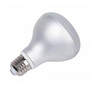 Ampoule LED aluminium R80 E27 - Gris - 9 W équivalence incandescence 60 W, 700 lm - 3 000 K