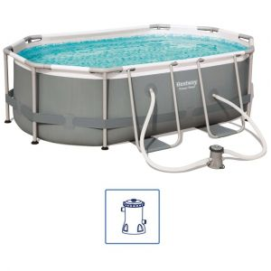 Bestway Ensemble de piscine Power Steel Ovale 56617