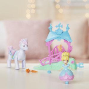 Hasbro Disney Princesses - Mini poupée mouvement magique - Cendrillon et son cheval