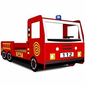 Lit enfant design Camion Pompier