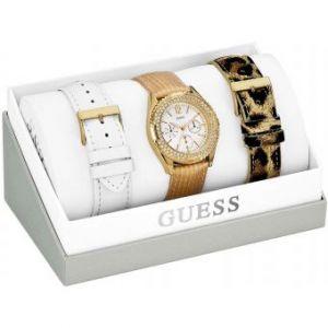 Guess W16574L1 - Coffret montre pour femme avec 3 bracelets