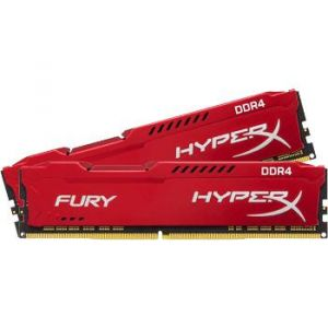 Kingston HyperX Fury Red DDR4 2 x 8 Go 3466 MHz CAS 19