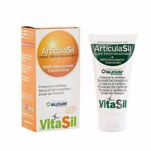 Vitasil Articulasil Organic Silicium bio-activated + MSM-Glucosamine, Chondroïtine
