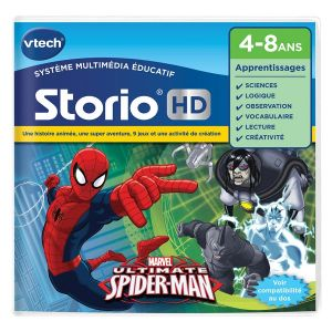Vtech 273005 - Jeu Storio HD Spiderman