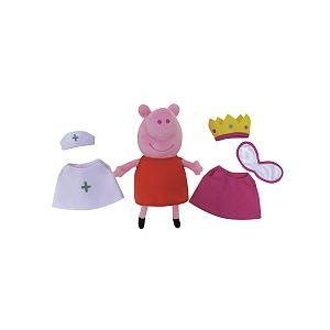 Jemini Coffret Peluche Peppa Pig s'habille 20 cm