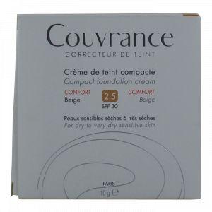 Avène Couvrance - Crème de teint compacte 2.5 Beige SPF 30