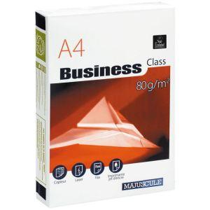 Majuscule Ramette de 500 feuilles Business Class A4 coloris blanc 80g