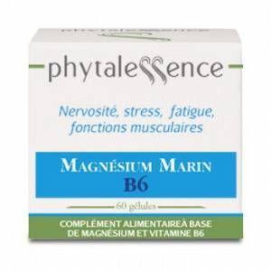 Phytalessence Magnesium marin B6 60 gélules
