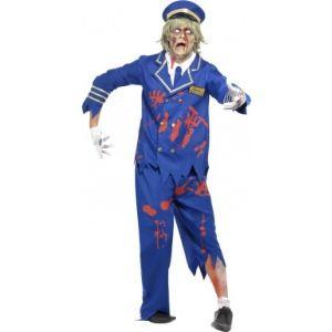Smiffy's Déguisement zombie capitaine de l'air homme Halloween