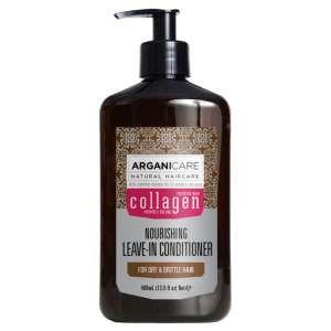 ArganiCare Soin nourrissant sans rinçage Argan et Collagen pour cheveux fins et dévitalisés