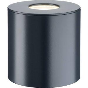 Paulmann Spot saillie extérieur anthracite IP44 220V 4.4W LED blanc chaud 79670