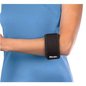 Mueller Protecteurs articulations Tennis Elbow Support - Black - Taille One Size