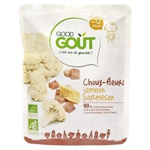 Good Goût Plat Choux-fleurs jambon et parmesan 4x220g - dès 12 mois