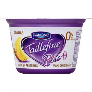 Taillefine Yaourts saveur ananas 0% - Le pots de 125g