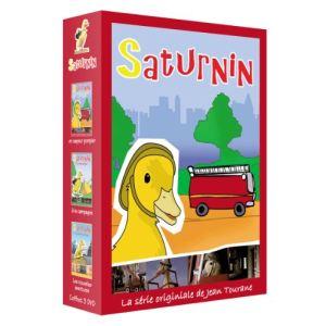 Coffret Saturnin 1 - Sapeur pompier + A la campagne + Les nouvelles aventures