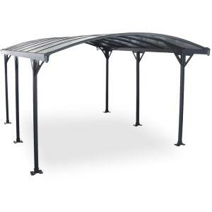 Concept-Usine Avera 5m : abri de voiture, carport en aluminium 5,8 x 3 m
