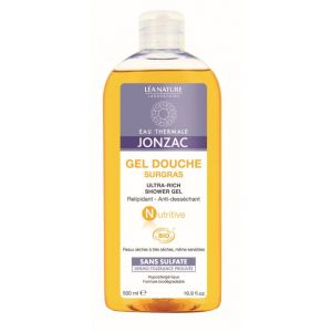 Eau Thermale Jonzac Nutritive - Gel douche surgras