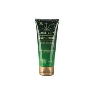 Chanvria Crème pieds à base d'huile de chanvre 100% vierge