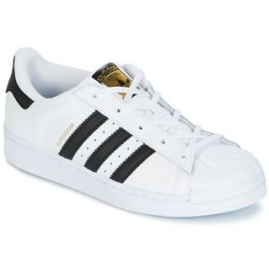 Adidas Chaussures enfant SUPERSTAR blanc - Taille 28,29,30,31,32,33,35,33 1/2,31 1/2,30 1/2,28 1/2