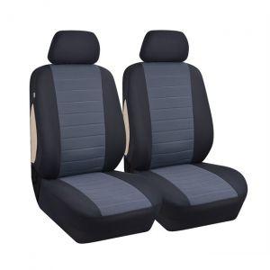 Jeu de housses universelles 2 sièges avant voiture velours