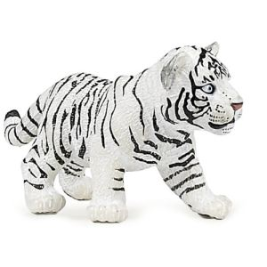 Papo Figurine bébé Tigre blanc