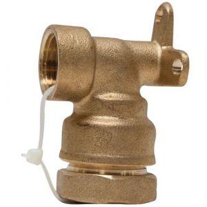 Boutté Applique femelle - 20x27 - D: 25 mm - Raccord tuyau polyéthylène