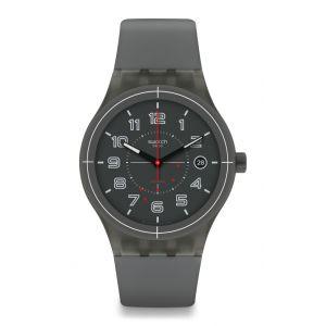 Swatch Homme Digital Automatique Montre avec Bracelet en Silicone SUTM401
