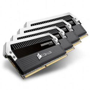 Corsair CMD16GX3M4A2400C11 - Barrette mémoire Dominator Platinum 16 Go (4 x 4Go) DDR3 2400 MHz CL11