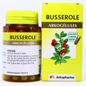 Arkopharma Busserole - Gélules pour troubles urinaires