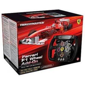 ThrustMaster Ferrari F1 Wheel Add-on - Volant précis, robuste et réaliste pour PC/PS3/PS4/Xbox One