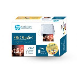 HP Pack Sprocket 200 Grise - Imprimante photo