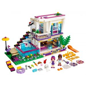 Lego 41135 - Friends : La maison De La Pop Star Livi