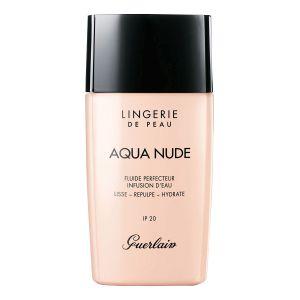 Guerlain Lingerie de Peau Aqua Nude 05W Foncé Doré - Fluide perfecteur infusion d'eau IP 20