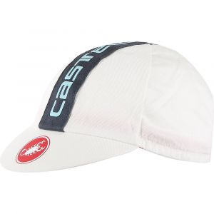 Castelli Casquette Retro 3 - One Size Washed White/Anthrac