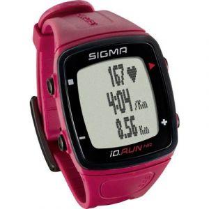 Sigma ID.RUN HR Montre De Sport - Noir / Rouge