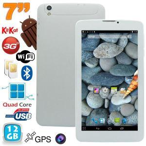 """Yonis Y-tt54g12 - Tablette tactile 7"""" sous Android 4.4 KitKat Double SIM débloqué (8 Go interne + Micro SD 4 Go)"""