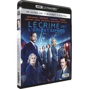 Le Crime de l'Orient Express [4K Ultra HD + Blu-ray + Digital HD]