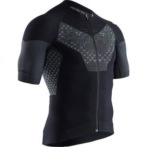 X-Bionic Twyce G2 Maillot manches courtes Homme, black melange XL Maillots route