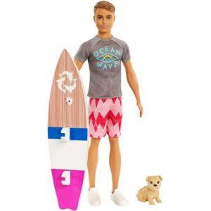 Mattel Ken surfeur et son chien